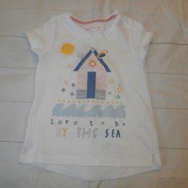 Beach hut t-shirt 4-5 years
