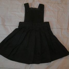 Grey school pleated pinafore 5 years