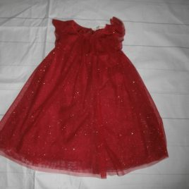 H&M red sparkly dress 4-5 years