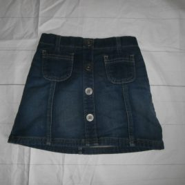 Next soft denim skirt 4-5 years