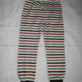 Stripy pyjama trousers 3-4 years