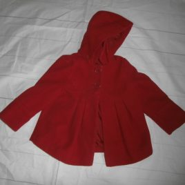 Red coat 2-3 years