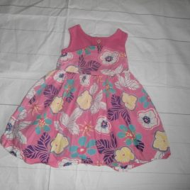 Pink flowers dress 2-3 years