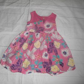 Pink flowers dress 2-3 years