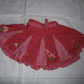 Next pink cord skirt 2-3 years