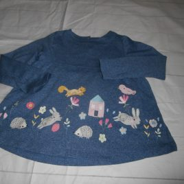 Appliqué animal top 4-5 years