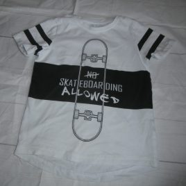 Skateboarding t-shirt 4 years