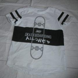 Skateboarding t-shirt 4 years