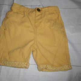 Mustard yellow shorts 2-3 years