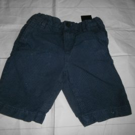H&M navy spotty shorts 3-4 years
