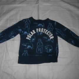 Polar bear jumper 2-4 years