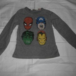 H&M Marvel superhero top 2-4 years