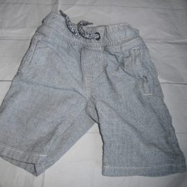 Next blue checked shorts 3 years
