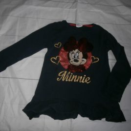Navy Minnie Mouse top 2-3 years