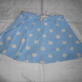 Frugi blue spotty skirt/shorts skort 3-4 years