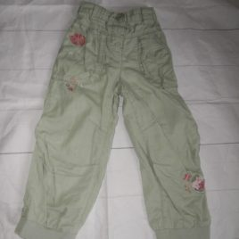 Next light green trousers 2-3 years