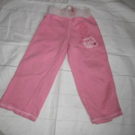 Next pink jogging trousers 2-3 years