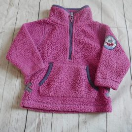 Lazy Jacks fleece jumper 1-2 years