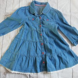 Mothercare blue dress 18-24 months