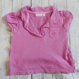 Jojo Maman Bebe pink t-shirt 18-24 months