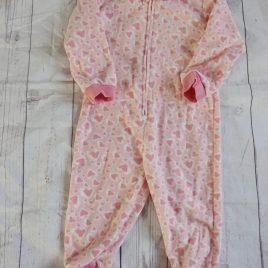Pink heart onesie 18-24 months