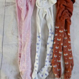 x3 pairs of tights 18-24 months