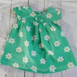 Green daisy t-shirt 18-24 months
