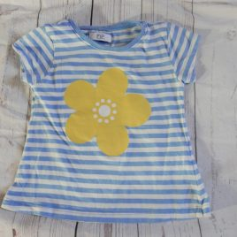 Yellow flower t-shirt 2-3 years