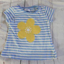 Yellow flower t-shirt 2-3 years