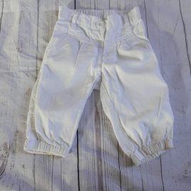 Next white trousers 18-24 months
