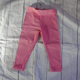 Next pink leggings 18-24 months