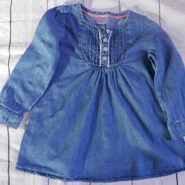 Blue tunic top 18-24 months