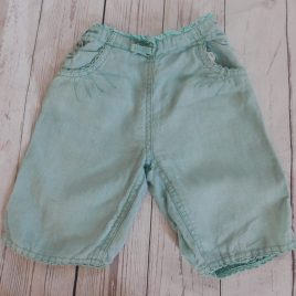 Monsoon mint linen trousers 12-18 months