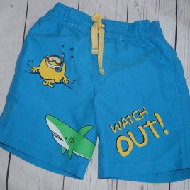 M&S Mr Men swimming shorts 2-3 years