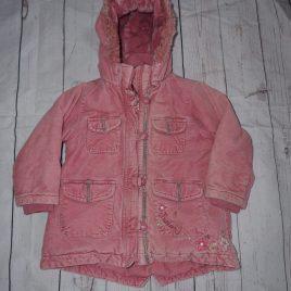 Debenhams Junior J pink winter coat 18-24 months