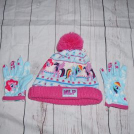 My little pony winter hat & gloves 3-6 years small