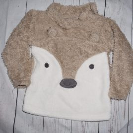 Fluffy bear jumper 1-2 years