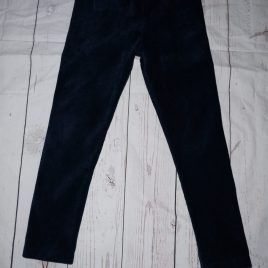 Blue Zoo navy cord style leggings 4-5 years