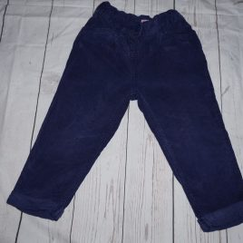 Purple cord trousers 18-24 months
