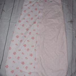 Mothercare pink sleeping bag 2.5 tog 18-36 months