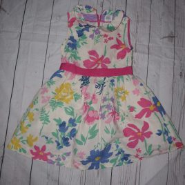 Boden flowers dress 4-5 years