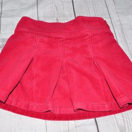 Next red cord skirt 18-24 months