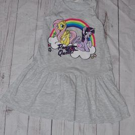 H&M grey My little Pony dress 4-6 years