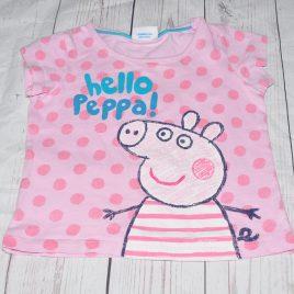 Pink Peppa Pig t-shirt 18-24 months