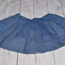 H&M blue skirt 18-24 months