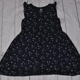 H&M navy dress 4-6 years