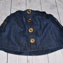 Next denim skirt 18-24 months
