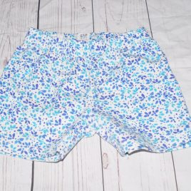GAP white & blue shorts 4-5 years