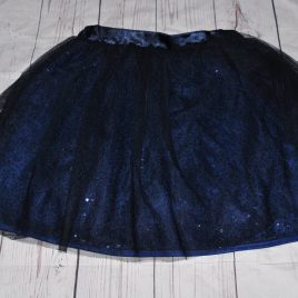 Navy sparkly sequin skirt 4-5 years