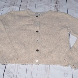 Next gold sparkly cardigan 4-5 years